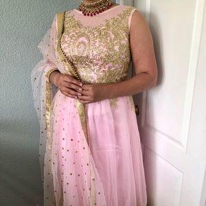 Indian/ Punjabi anakarli/ dress pajami suit